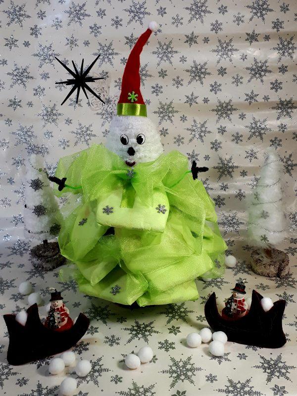 pelenkatorta karácsonyfa manó